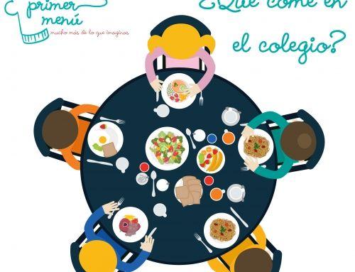 Mi hijo come en la escuela… ¿Qué come?